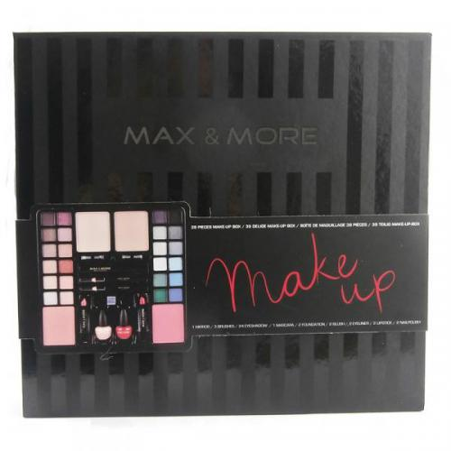 Max & More Make Up Case Box Set - 39 Pieces